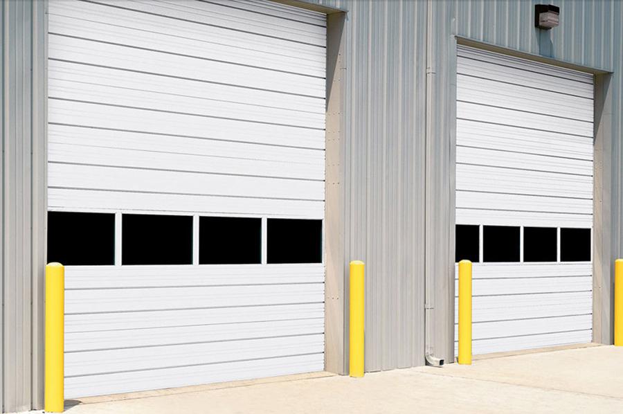 Steel 432 Sectional Overhead Door