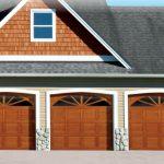 Traditional Wood Residential Garage Door