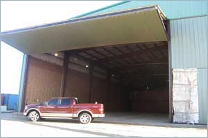 Bi-Folding Hangar Doors