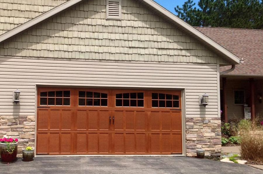 Carriage House Residential Garage Door