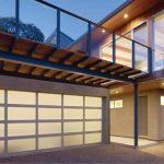 Modern Aluminum Residential Garage Door
