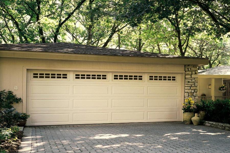 Traditional Steel Residential Garage Door